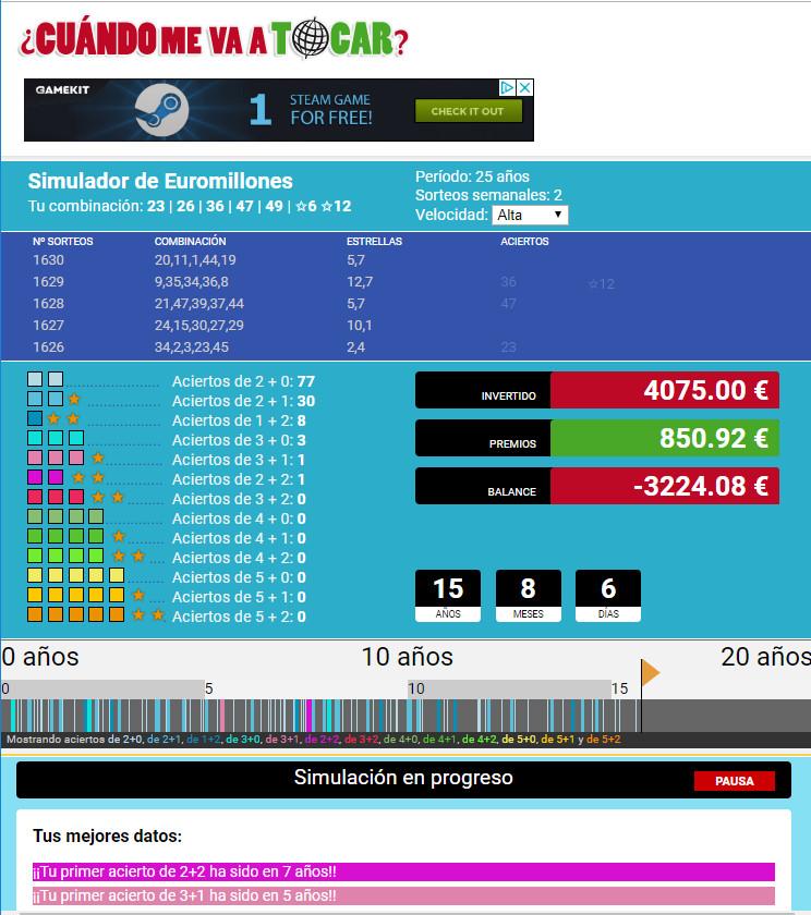 simulador de loterías